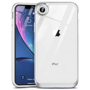 ESR Hoop Lite etui ochronne Apple iPhone XR silver