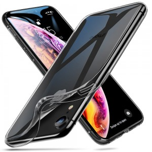 ESR ESSENTIAL ZERO ETUI SILIKONOWE APPLE IPHONE XR  dymiony