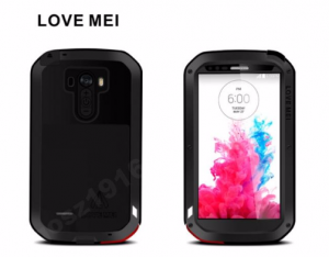 PANCERNE ETUI LOVE MEI POWERFUL LG G3 ALUMINIUM