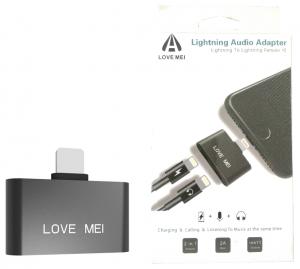 Love Mei Adapter Lightning Audio iPhone