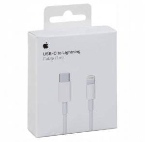 APPLE ORYGINALNY KABEL USB-C LIGHTNING 1M BOX MK0X2FE/A