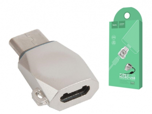 Hoco UA8 Adapter OTG Micro USB do Typ C konwerter