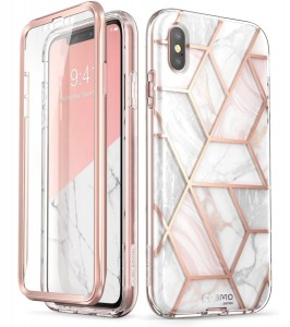 SUPCASE I-BLASON COSMO ETUI OBUDOWA iPHONE XS  DROP TEST