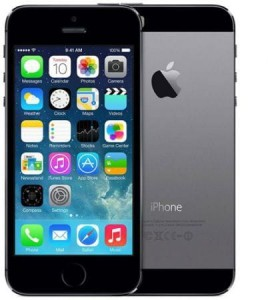 APPLE IPHONE 5S 16GB SPACE GRAY - SZARY