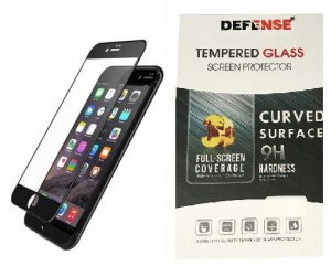 Szkło Hartowane Defense 3D Full Glue iPhone 7 8