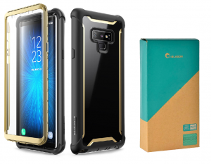 SUPCASE I-BLASON ARES ETUI SAMSUNG GALAXY NOTE 9 GOLD