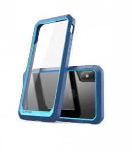 SUPCASE Unicorn Beetle etui pancerne iPhone X XS blue