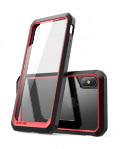 SUPCASE Unicorn Beetle etui pancerne iPhone X XS red