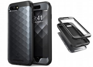 SUPCASE CLAYCO HERA ETUI OBUDOWA APPLE IPHONE 7/8 PLUS BLACK