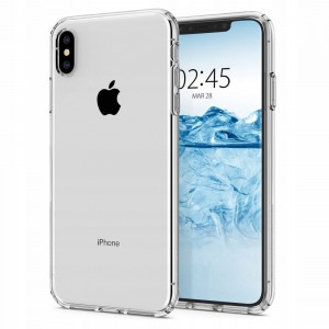 X-Fitted Crystal Soft Edge Etui do iPhone X Xs