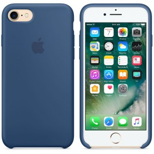 Oryginalne etui silikonowe Apple iPhone 7 8 4,7'' - Ocean Blue