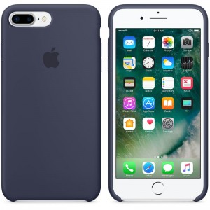 APPLE iPhone 7 PLUS ORYGINALNE ETUI SILIKONOWE MIDNIGHT BLUE