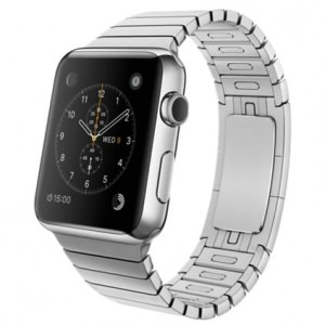 Bransoleta panelowa skracana Apple Watch 42mm - Srebrna