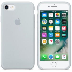 Oryginalne etui silikonowe Apple iPhone 7 8 4,7'' - Mist Blue