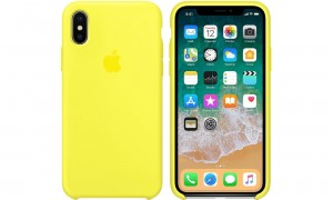 APPLE iPhone X ETUI SILIKONOWE Flash