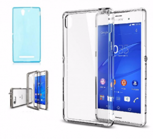 ETUI SONY XPERIA Z1 SILIKON CRYSTAL CASE ULTRATHIN