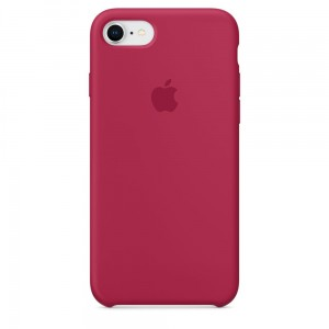 APPLE IPHONE 7 8 ORYGINALNE ETUI SILIKONOWE MQGT2ZM/A ROSE RED