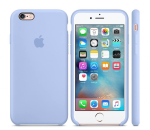 Oryginalne etui silikonowe Apple iPhone 6 6s 4,7'' -  Lilac Cream