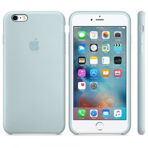Oryginalne etui silikonowe Apple iPhone 6 6s PLUS 5,5''-Turquise
