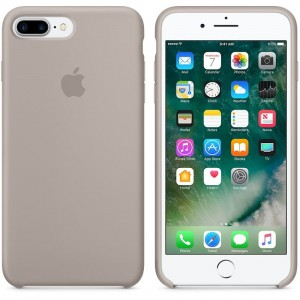 APPLE iPhone 7 PLUS ORYGINALNE ETUI SILIKONOWE PEBBLE