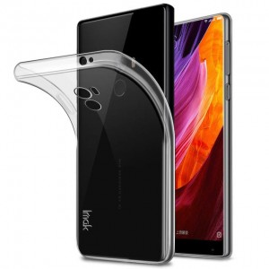XIAOMI MI MIX ETUI CLEAR CASE CIENKIE SILIKON 0,3MM