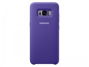 SAMSUNG GALAXY NOTE 8 ETUI SILICONE COVER FIOLETOWE