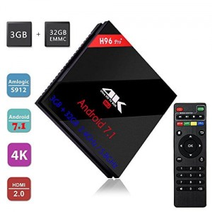 TV BOX H96 PRO+ 4K SMART TV ANDROID WIFI 3/32GB