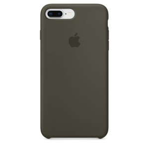 APPLE IPHONE 7 8 PLUS ORYGINALNE ETUI SILIKONOWE DARK OLIVE