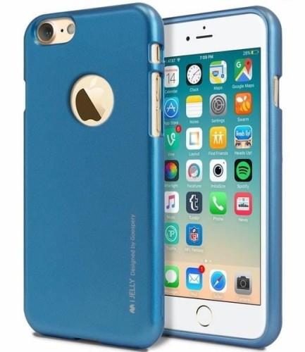 3c6d391a90d9 Etui Goosper Mercury i-Jelly Metal iPhone 7 BLUE - Apple - Etui ...