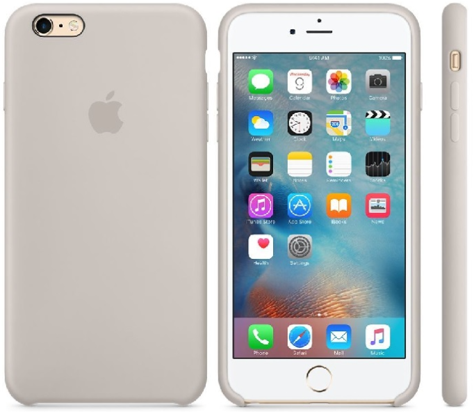 Nietypowy Okaz Oryginalne etui silikonowe Apple iPhone 6 6s Plus 5,5 - Stone NT59